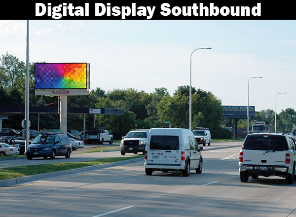 Digital Billboard Algonquin/Crystal Lake-Southbound