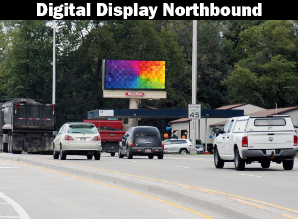 Digital Billboard Algonquin/Crystal Lake-Northbound